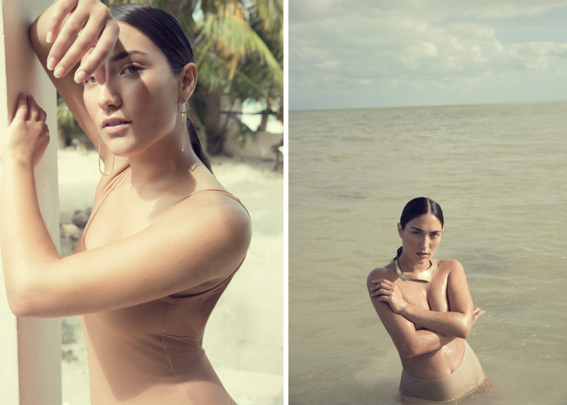 Abrielle Stedman in Holbox Mexico